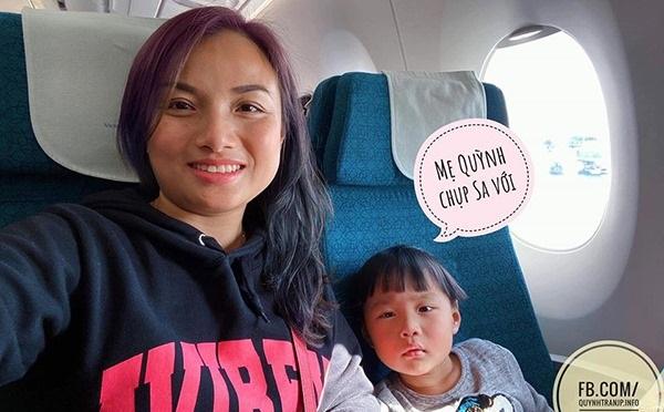 """""""Hot Youtuber"""" Quỳnh Trần JP và bé Sa """"siêu cute"""" đang trên đường về Việt Nam, hội ngộ fan Việt sớm thôi!"""