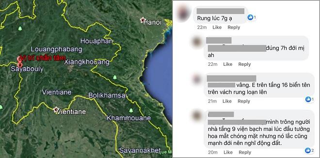 Nhiều người hoang mang vì nhà rung lắc vào sáng sớm do trận động đất 6,1 độ richter ở Lào