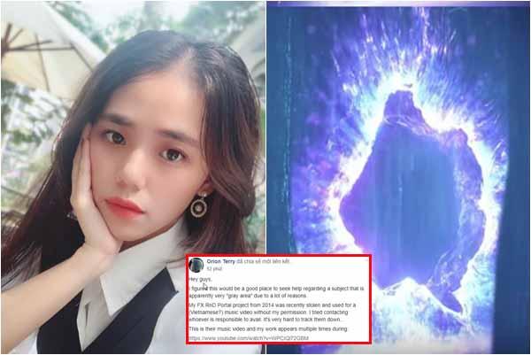 """""""Thánh cover"""" Hương Ly bị nghệ sĩ nước ngoài tố """"ăn cắp chất xám"""" trong MV đầu tay?"""