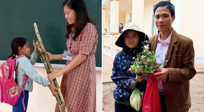 20/11 của giáo viên vùng cao: Quà là hoa dại và thực phẩm