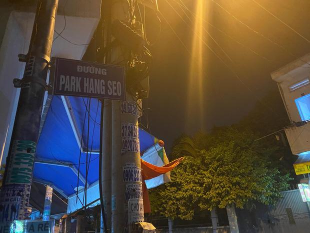Ngạc nhiên con đường mang tên Park Hang Seo xuất hiện ở Sài Gòn