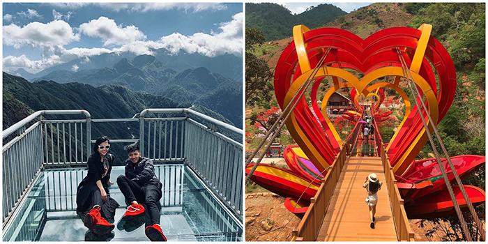 """Cuối năm nhất định phải """"set kèo"""" trải nghiệm 2 cây Cầu Kính ở Việt Nam đang gây sốt"""