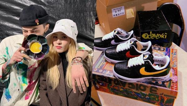 """Mẫu giày Nike 88 đôi của G-Dragon """"đội giá"""" gấp 5 lần, Dara được hẳn 3 đôi nhìn màu mà """"cay"""""""