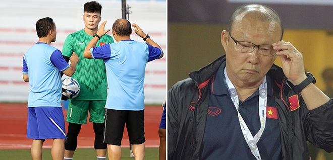 Thủ môn Bùi Tiến Dũng không đạt phong độ cao, thầy Park đau đầu chọn thủ môn cho SEA Games 30