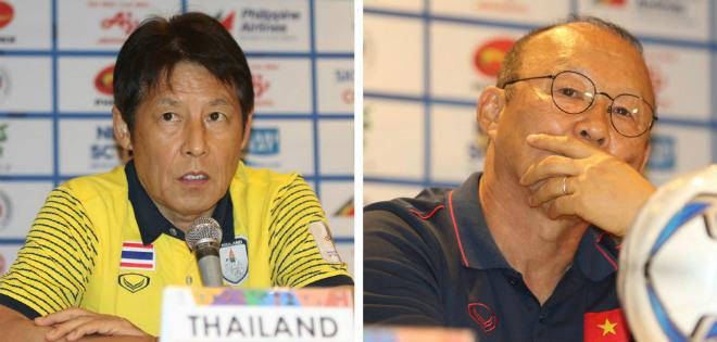 HLV Nishino thay mặt trợ lý xin lỗi thầy Park vì hành động khiếm nhã khi gặp lại ở SEA Games