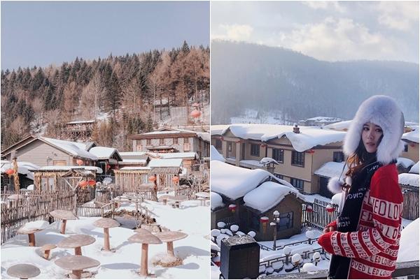 Lạc bước đến ngôi làng tuyết đẹp hơn cổ tích ở Cáp Nhĩ Tân, Trung Quốc
