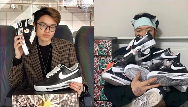 """""""Rick Kid"""" Việt đầu tiên sở hữu đôi giày độc quyền của G-Dragon: Mua 1 hóa ra được 2, giá trên trời vẫn mua"""