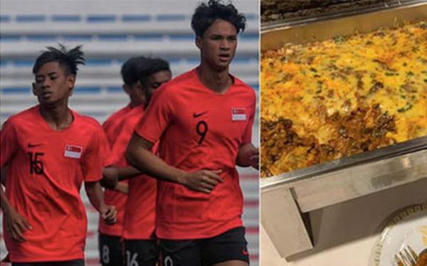 VĐV quá đói, Singapore gửi thư cho BTC SEA Games 2019 cầu xin giải quyết