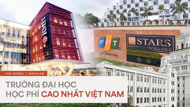 Top 7 trường đại học có học phí cao nhất Việt Nam: RMIT đã bị soán ngôi