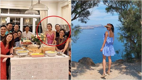 Tăng Thanh Hà lộ ảnh gầy gò giữa gia đình nhà chồng: Làm dâu nhà đại gia liệu có dễ dàng?