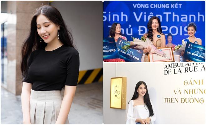 """Loạt ảnh đời thường """"chất lừ"""" của Hoa khôi Nữ sinh viên thanh lịch Thủ đô năm 2019"""