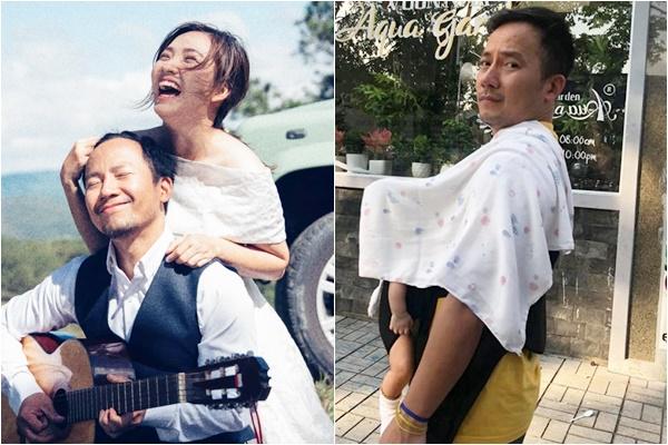 Tình cũ Hari Won lần đầu công khai con sau 1 năm kết hôn, ảnh chụp thôi cũng thấy hài hước