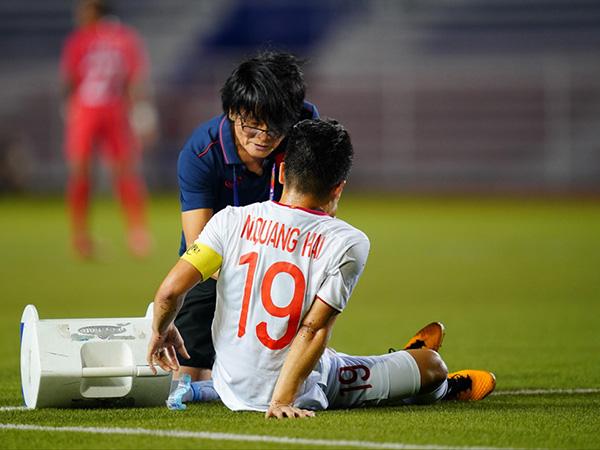 HOT: Quang Hải nhiều khả năng vắng mặt trận gặp Thái Lan do chấn thương nặng