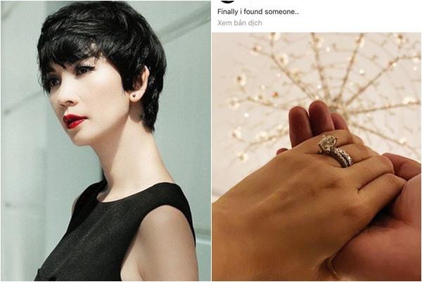 Siêu mẫu Xuân Lan khoe nhẫn kim cương, chuẩn bị lấy chồng!