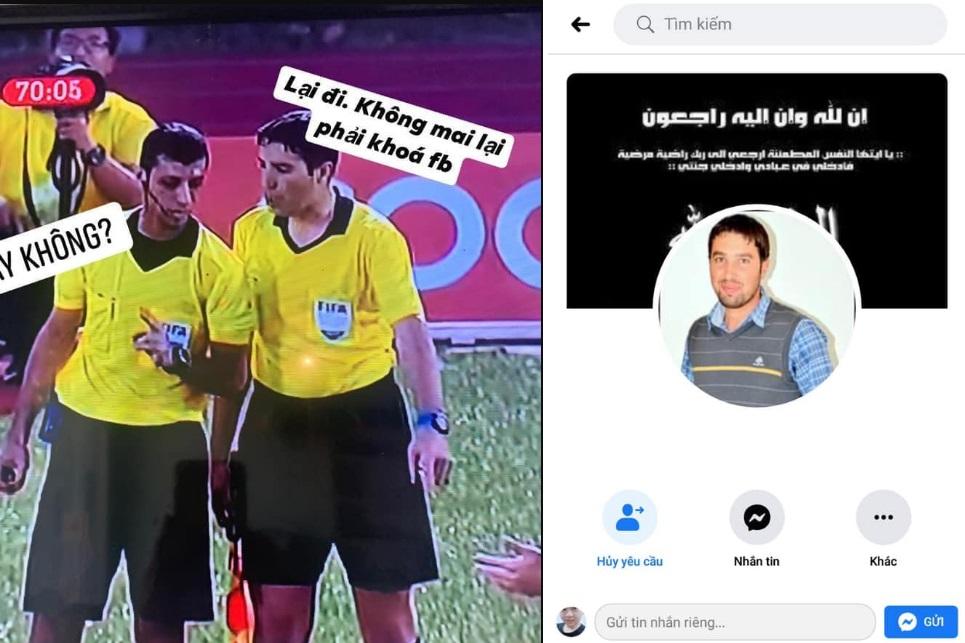 Tìm ra Facebook trọng tài biên - người mang lại quả penalty lần 2 cho đội tuyển Việt Nam