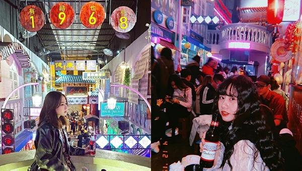 """Phát sốt """"Hẻm Bia"""" đậm phong cách Hong Kong ngay Hà Nội khiến giới trẻ kéo nhau """"sống ảo"""""""