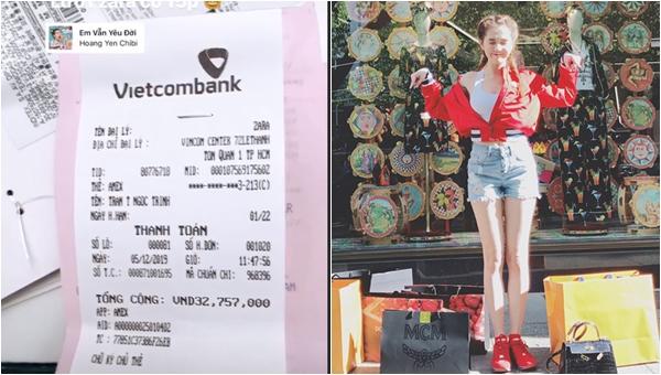 Choáng trước số tiền đi shopping...15 phút của Ngọc Trinh, cứ ngỡ là mang cả cửa hàng về nhà