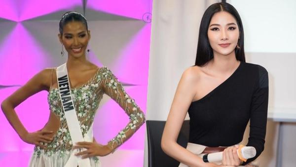 """Hoàng Thuỳ gây bất ngờ với làn da """"đen không lối thoát"""" tại Hoa hậu Hoàn vũ Thế giới"""