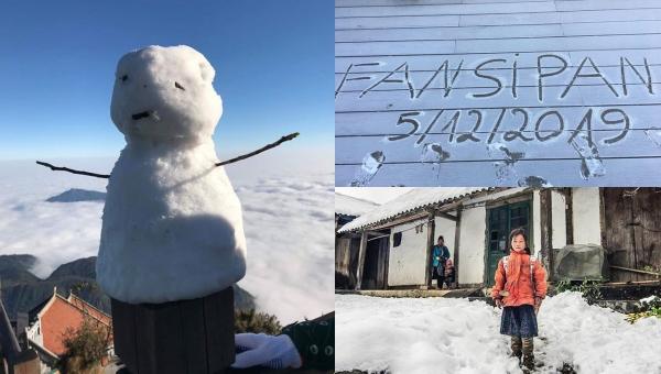 """""""Xao xuyến"""" trước loạt khoảnh khắc """"tuyết rơi đầu mùa"""" ở Sapa, nhìn chỉ muốn đi luôn và ngay"""