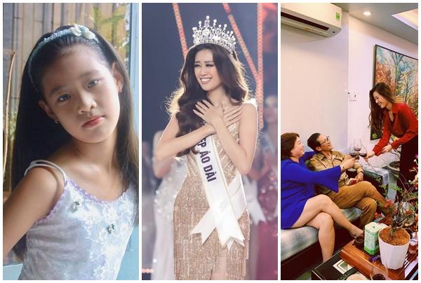 Gia thế ít người biết của tân Hoa hậu Hoàn vũ Khánh Vân, nhưng chú ý nhất vẫn là nhan sắc thời bé