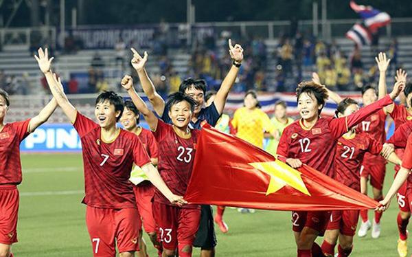 """Giành tấm HCV SEA Games lần thứ 6, ĐT bóng đá nữ Việt Nam nhận """"mưa"""" tiền thưởng"""