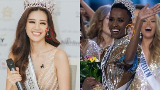 """Miss Universe 2019 và Hoa hậu Khánh Vân gây ngỡ ngàng khi đăng quang cách ngày lại có pha """"đụng hàng"""" căng cực"""