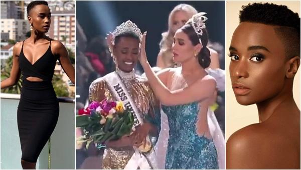Người đẹp Nam Phi lên ngôi Hoa hậu Hoàn vũ thế giới 2019: vẻ đẹp của màu da, tóc tém và sức mạnh truyền cảm hứng