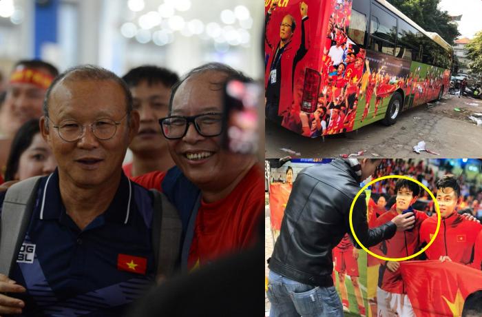 Cận cảnh chiếc xe đón U22 Việt Nam và đội tuyển nữ về nước mừng công, được trang bị kĩ càng từng chi tiết nhỏ
