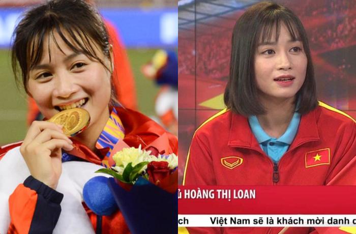Lên truyền hình, hot girl bóng đá nữ khiến fans cả nước sôi sục, vừa nở nụ cười đã đốn tim