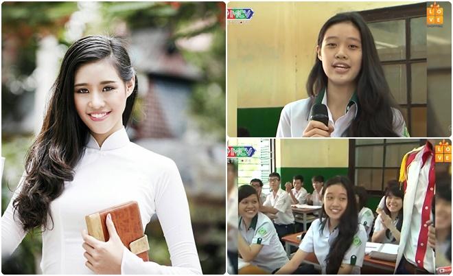 Clip năm lớp 12 của Hoa hậu Nguyễn Trần Khánh Vân gây bất ngờ với chiều cao khủng, vẻ ngoài trong trẻo và giọng hát tự tin