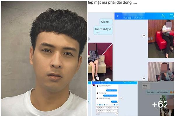 """""""Trai ngoan"""" Hồ Quang Hiếu bị tung bằng chứng """"lùm xùm"""" với hotgirl, còn chối cãi biện minh khó thuyết phục"""