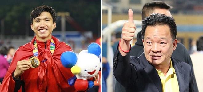 Thưởng đội nữ và U22 Việt Nam 4 tỷ đồng, bầu Hiển kể chuyện đàm phán cho Văn Hậu dự SEA Games
