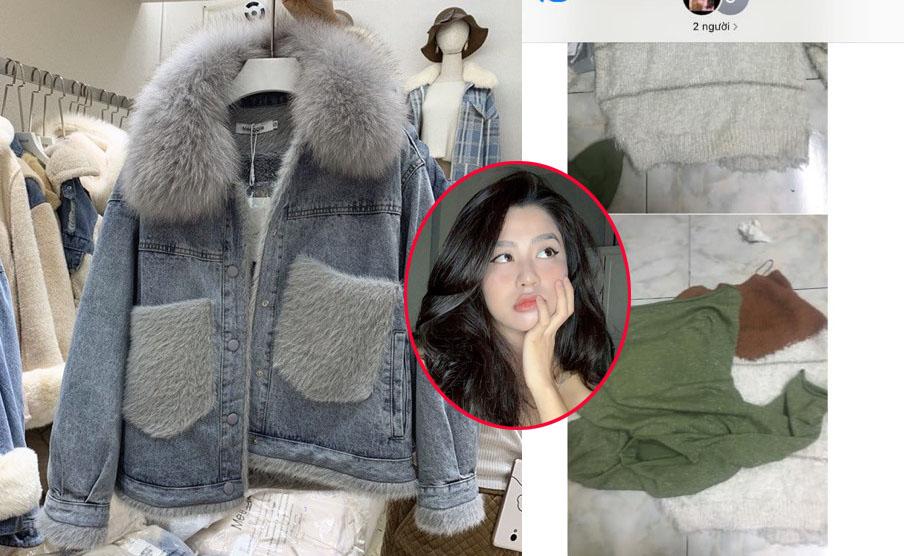 """Mang tiếng yêu rich kid, Hàn Hằng vẫn ham đồ rẻ, order áo khoác mùa đông 199k, nhận ngay đống """"giẻ lau"""""""
