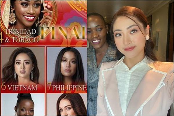 Lương Thùy Linh bất ngờ lọt top 10 ứng viên sáng giá cho ngôi vị Hoa hậu Thế giới 2019