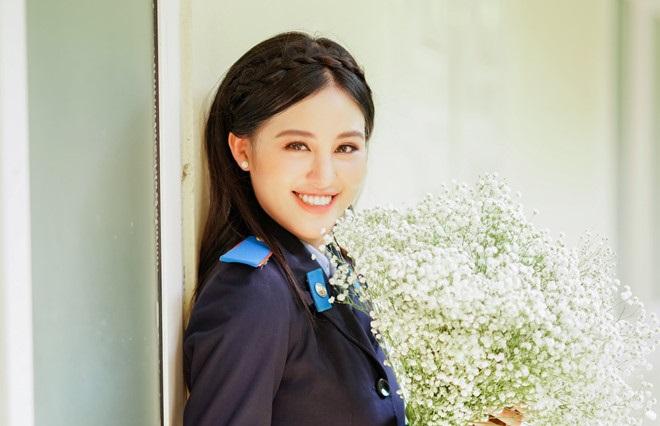 Nữ sinh Học viện Cảnh sát xinh đẹp 2 lần khoe sắc tại các cuộc thi hoa hậu