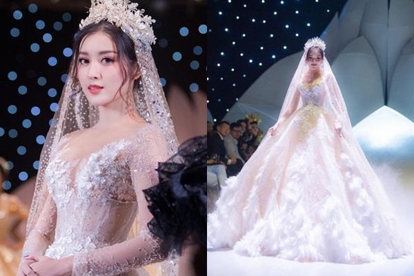 Huyền My than thở vì mặc váy cưới quá nhiều lần mà cuộc đời vẫn cứ FA
