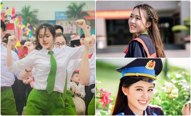 Những cô nàng tài sắc vẹn toàn trường Cảnh sát: Người là thủ khoa, người từng 2 lần thi hoa hậu