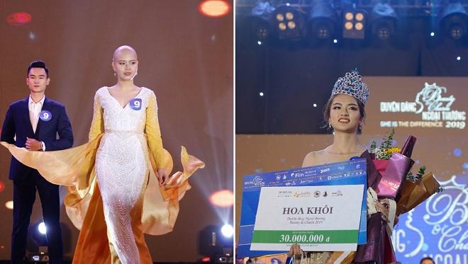 9x Hà Nội trở thành tân Hoa khôi ĐH Ngoại thương, Đặng Trần Thủy Tiên đạt danh hiệu Miss Truyền cảm hứng
