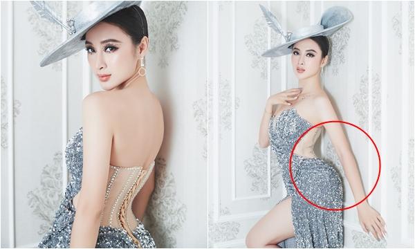 """Angela Phương Trinh bất ngờ tái xuất thảm đỏ cùng chiếc lưng """"cong vẹo cột sống"""" huyền thoại"""