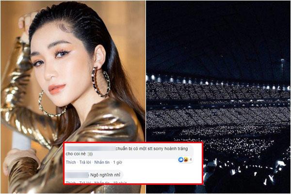 """""""Nữ hoàng xin lỗi"""" Hòa Minzy bị tố """"chôm chỉa"""" ảnh EXO làm poster fanmeeting và bài ca quen thuộc"""