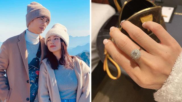 """Mua nhẫn kim cương cho Sĩ Thanh chưa đủ, Huỳnh Phương còn tặng hoa tai cho mẹ người yêu, """"bạn trai nhà người ta"""" chưa bao giờ làm thất vọng"""