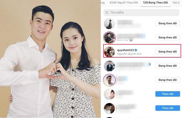 Nhìn Quang Hải, Văn Toản mới thấy Duy Mạnh chung tình cỡ nào: Yêu 3 năm, chỉ follow một người con gái duy nhất