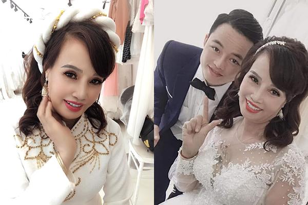 """Cô dâu 62 tuổi cùng chồng 27 tuổi đi chụp lại ảnh cưới để """"hâm nóng tình cảm"""", dân tình nghi ngờ: """"Lại chiêu trò PR?"""""""