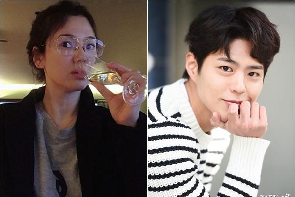 """Hậu ly hôn, Song Hye Kyo bất ngờ đăng bài liên quan đến """"tình tin đồn"""" Park Bo Gum?"""