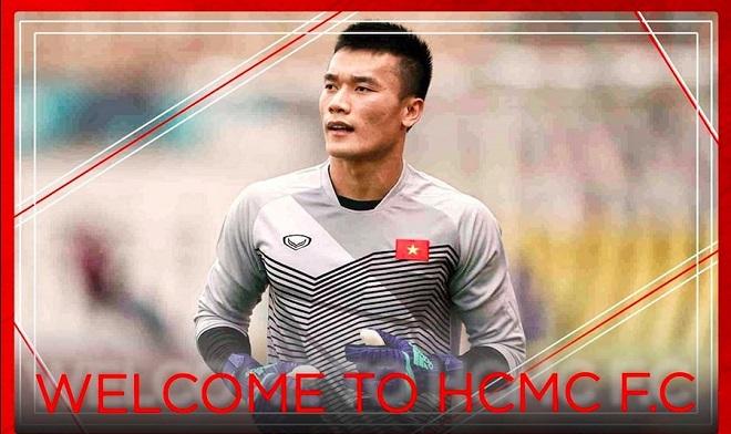 CLB TP HCM xác nhận ký hợp đồng 3 năm với thủ môn Bùi Tiến Dũng, đảm bảo được thi đấu thường xuyên