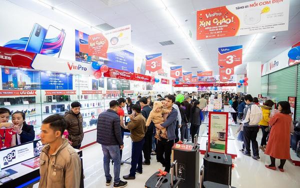 Vingroup giải thể hệ thống siêu thị điện máy VinPro, Adayroi sáp nhập vào VinID