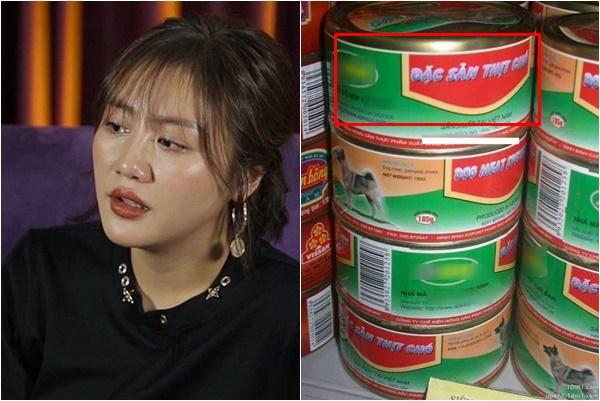 """Văn Mai Hương bị nói """"giả tạo"""" khi chỉ trích công ty sản xuất """"đặc sản thịt chó đóng hộp""""?"""