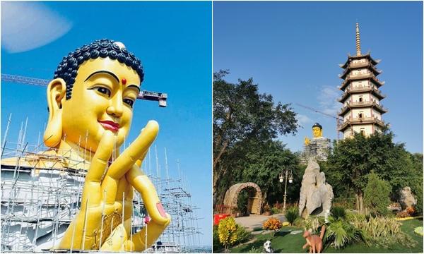 Mục sở thị đại tượng Phật A Di Đà lớn nhất Đông Nam Á ngay tại Hà Nội