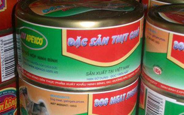 """Thực hư về hình ảnh món """"thịt chó đóng hộp"""" được cho là sản xuất tại Ninh Bình gây tranh cãi"""