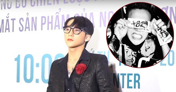 """Vừa công bố ra mắt thương hiệu thời trang Việt """"+84"""", Sơn Tùng bị nghi ngờ lại """"mượn"""" ý tưởng """"+82"""" của G-Dragon"""